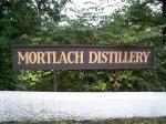 Mortlach distillery - the sign