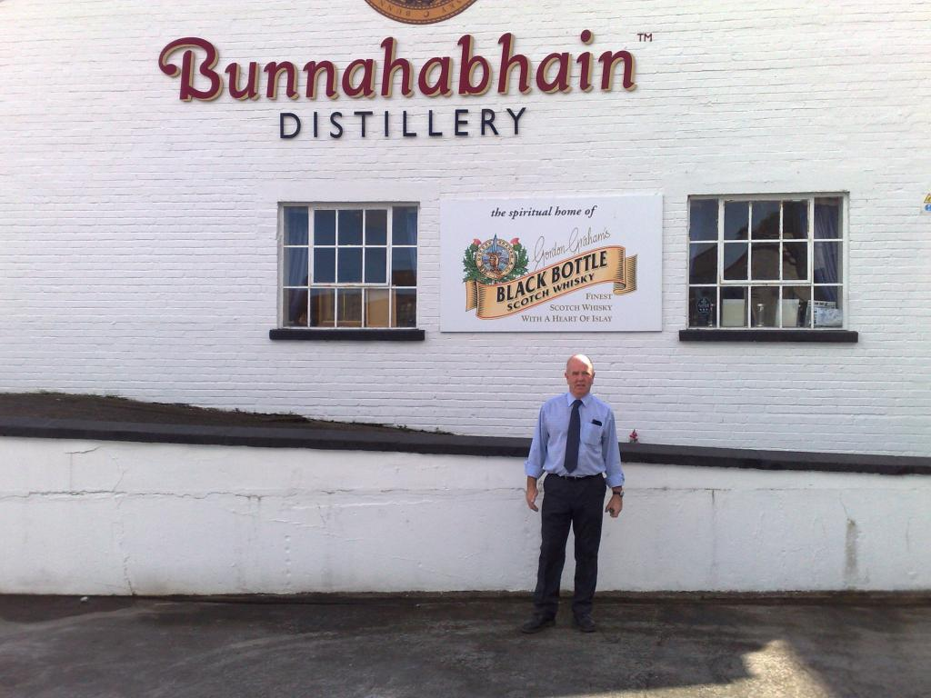 Bunnahabhain visited by AWA