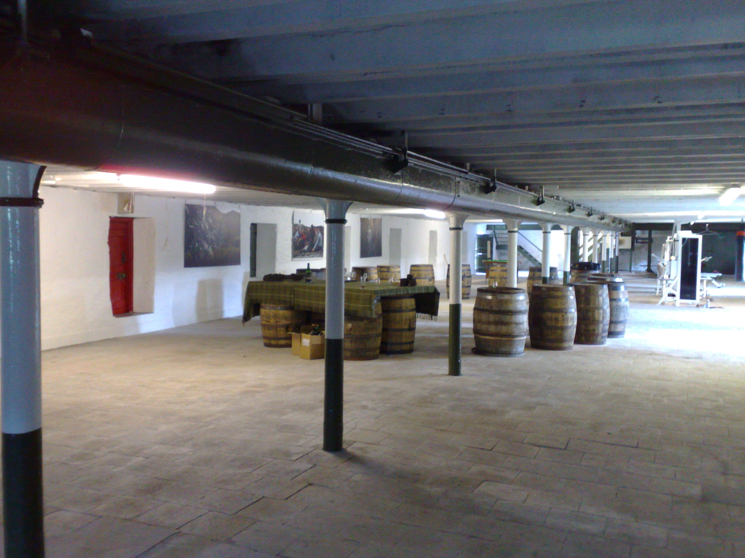 The old Ardbeg floormalting area...