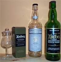 Ardbeg scotch whisky from islay
