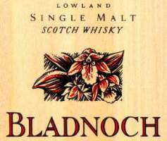 Bladnoch lowland single malt scotch whisky logo