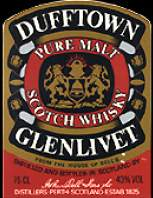 Dufftown 8 years old