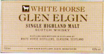Glen Elgin / White Horse - Scotch Whisky
