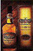 The Glenturret whisky bottle.