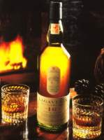 Nice picture of the lagavulin bottle with glass