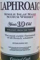 Laphroaig Cask Strenght Single Malt 10 years old
