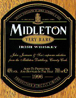 From the Midleton Irish Whiskey Box.