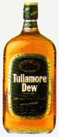 Tullamore Dew Irish Whiskey - The Whiskey bottle.