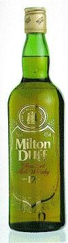 Miltonduff 12 years old scotch whisky (The old Green bottle)